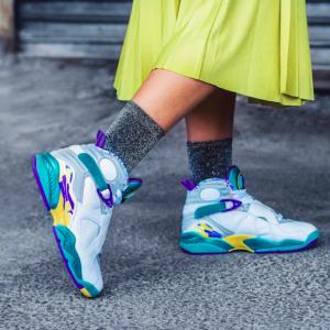 6折,Air Jordan 8 乔丹 女士复刻运动鞋 @Nike.com