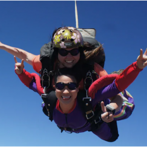Skydive Sacramento - One tandem skydive jump up to 9,000 feet for $99 @Groupon