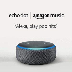 Echo Dot (3rd Gen) and 1 month of Amazon Music Unlimited @ Amazon