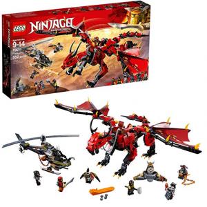 LEGO NINJAGO Masters of Spinjitzu: Firstbourne 70653 Ninja Toy Building Kit (882 Pieces)