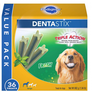 Pedigree Dentastix 精选多款狗狗洁牙零食折扣热卖 @Amazon