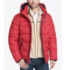 Extra 50% OFF Coats @Macy's, Tommy Hilfiger Men's Puffer Jacket $79 (Org $225) & More