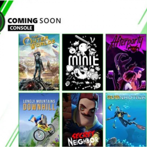 Xbox Game Pass for Console: The Outer Worlds, Afterparty, Subnautica, and More @Xbox