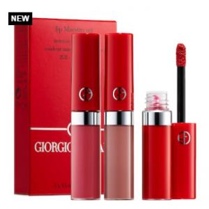 Sephora上新!GIORGIO ARMANI阿瑪尼紅管絲絨唇釉3支迷你套裝