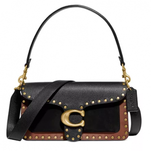 COACH Tabby Mixed Leather Shoulder Bag @ Macy's