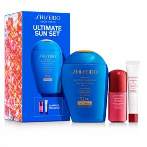 Macy's上新!Shiseido资生堂新艳阳蓝胖子防晒超值套装