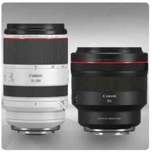 New Canon RF 70-200mm f/2.8L IS USM, 85mm f/1.2L @ B&H