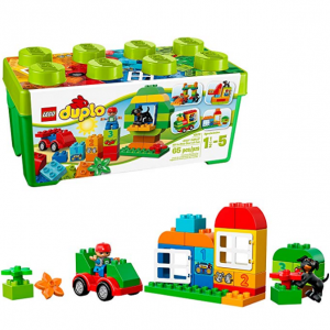 LEGO Duplo All-in-One-Box-of-Fun Brick Box 10572 (65 Pieces) @ Amazon