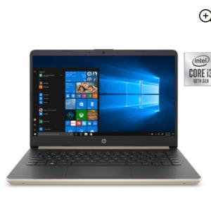 HP 14 Laptop: Intel i3-1005G1, 4GB SDRAM, 128GB SSD $299 @Walmart