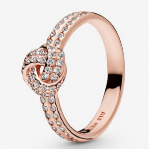 Pandora rose gold plated knot ring for £29 @Pandora Shop