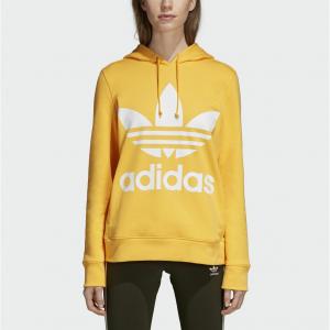 adidas Originals Trefoil 三叶草女款连帽卫衣 @eBay