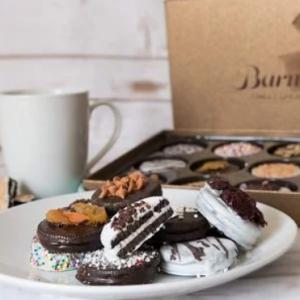 Barnett's Chocolate Cookies Gift Basket,12 Unique Flavors @ Amazon.com