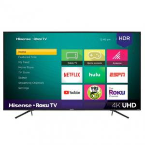 "Hisense 65R7E1 65"" 4K UHD HDR Roku TV @ Best Buy"