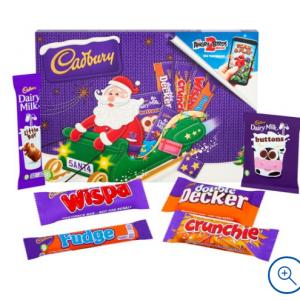 Cadbury Milk Chocolate Santa Selection Box 153g for £1 @Tesco