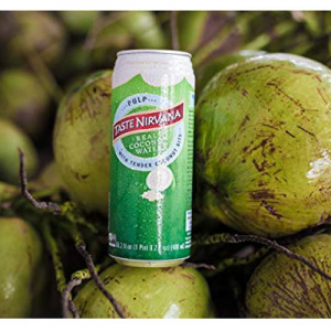 Taste Nirvana Real Coconut Water,10.14 Ounce Cans (Pack of 12) @ Amazon.com