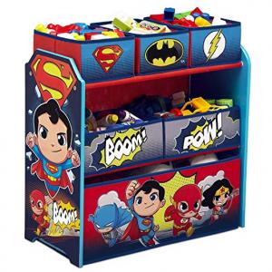 Delta Children 儿童玩具收纳架,含6个收纳盒 @ Amazon