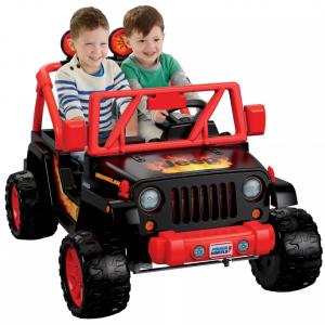 Fisher-Price Power Wheels Tough Talking Jeep - Black/Red @ Target