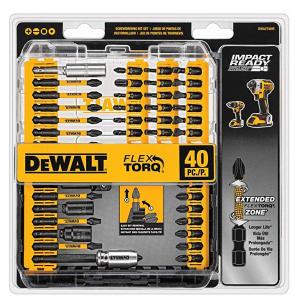 史低價:DEWALT (DWA2T40IR) 40件套電鑽螺絲刀頭 衝擊鑽適用 @Amazon