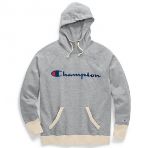 Champion Women's Powerblend® Fleece Pullover Hoodie, Script Logo Sale @Champion