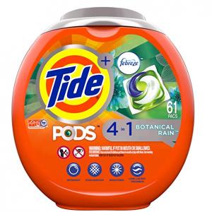 Tide PODS 汰漬四合一果凍高效洗衣球 61顆 @Amazon