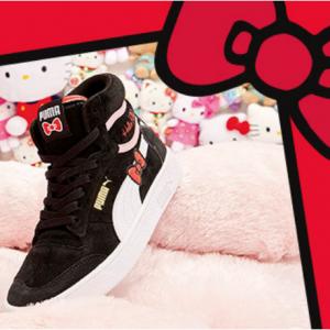 Puma 官网Hello Kitty联名合作款上新补货