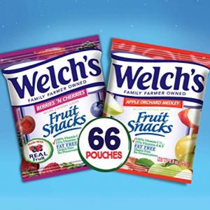 Welch's 水果软糖混合口味 0.9oz 66包