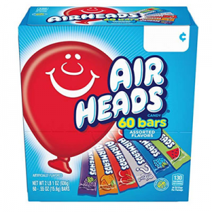Airheads Candy Bars Variety 60 Count @ Amazon.com