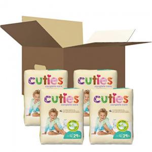 Cuties Complete Care 嬰兒紙尿褲熱賣 @ Amazon