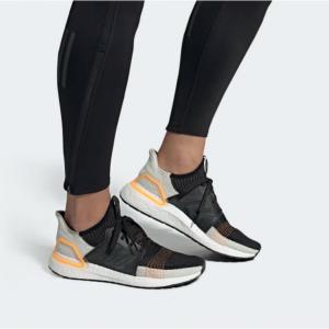 Men's Adidas UltraBOOST 19 Running Shoe - Color: Trace Cargo/White @ JackRabbit