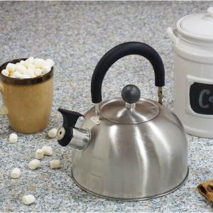 Mainstays 1.8-Liter Whistle Tea Kettle, Stainless Steel @Walmart