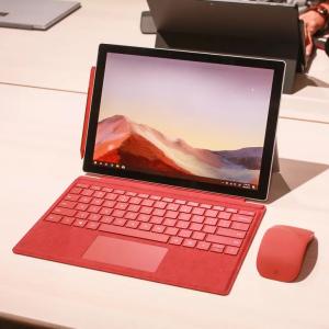 新款 Surface Pro 7 + Surface Pro键盘 +触控笔套装低至$728.99 @Microsoft Store