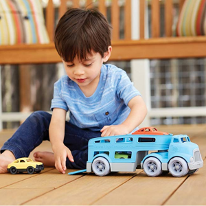 Green Toys 车载玩具车套装,蓝色 @ Amazon