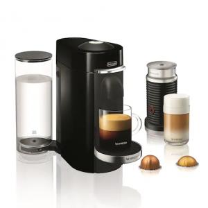 Nespresso Vertuo Plus Deluxe Coffee & Espresso Machine with Aeroccino Milk Frother by Delonghi