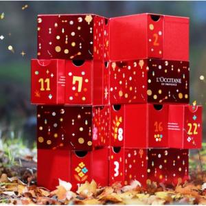 L'Occitane欧舒丹官网抽奖 赢24件正装圣诞倒数日历礼盒