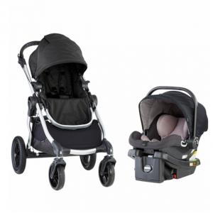 Baby Jogger City Select + City GO 童車+安全座椅旅行套裝 @ Albee Baby