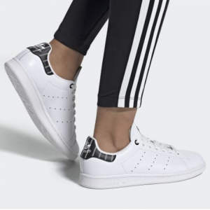 eBay US官网 Adidas Stan Smith女款黑色花纹休闲鞋热卖 多色可选