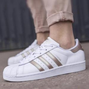 eBay US官网 Adidas阿迪达斯Superstar女款玫瑰金贝壳头热卖