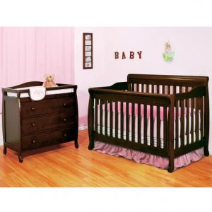 AFG 4合1婴儿床+3层储物尿布台 @ Sam's Club