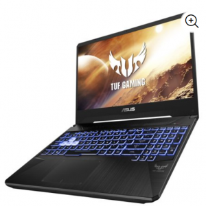Walmart - 华硕TUF 15.6英寸笔记本电脑 (Ryzen 7 3750H 8GB 256GB SSD GTX 1650) 现价$699