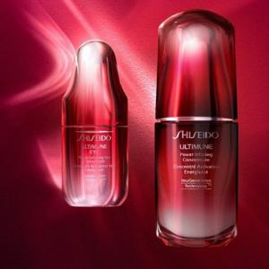折扣升级!Shiseido资生堂护肤美妆热卖 收红腰子精华 百优眼霜 防晒 智能粉底液