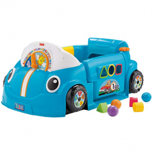 Fisher-Price Laugh & Learn Smart Stages Crawl Around Car, Blue @ Amazon