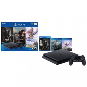 黑五預告:PS4 Slim 1TB 標準版 + 《戰神》《地平線》《最後生還者》 @ Best Buy