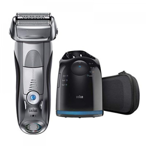 Braun Series 7 790cc Electric Foil Shaver with Clean&Charge Station, Electric Men's Razor
