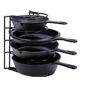 Cuisinel 精选铸铁锅具及收纳架热卖 @ Amazon