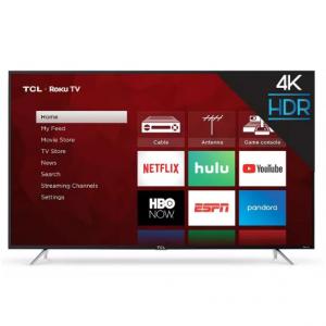 """TCL 65"""" Roku 4K UHD HDR Smart TV (65S425) @ Target"""