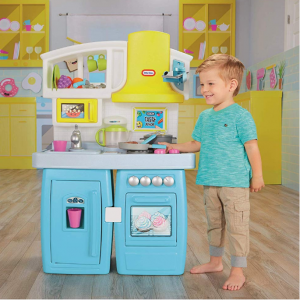 Little Tikes Tasty Jr. Bake 'N Share Kitchen Role Play Kitchen & Activity Set @ Amazon