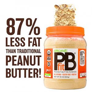 PBfit 純天然有機花生醬粉 30 Oz. 低脂高蛋白