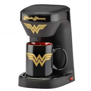 史低价:DC Wonder Woman 1杯量咖啡机 带马克杯 @ Amazon