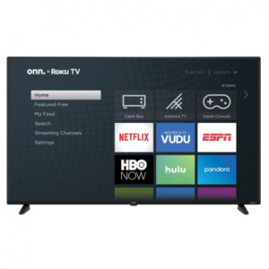 "onn. 58"" Class 4K Ultra HD (2160P) HDR10 Roku Smart LED TV (100005397) @ Walmart"