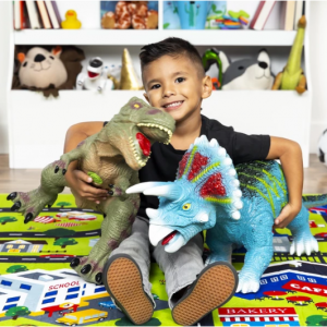 Realistic Roaring Dinosaur Figurine Toy @ Best Choice Products